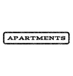 Apartments watermark stamp vector