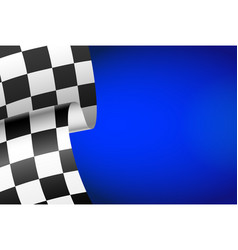 Blue racing background vector