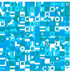 Chaotic random mosaic pattern background vector
