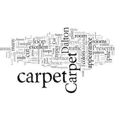 Dalton carpet offers you choices vector