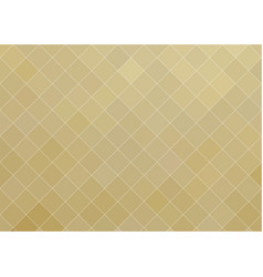 delicate golden mosaic background with small vector image
