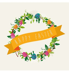 Easter background design vector