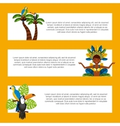 Infographic of brazilian culture design vector
