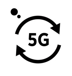 internet connection 5g wireless network isolated vector image
