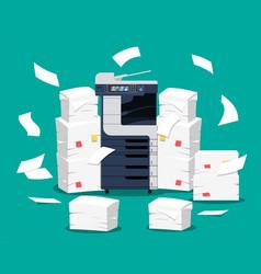 Office multifunction machine vector