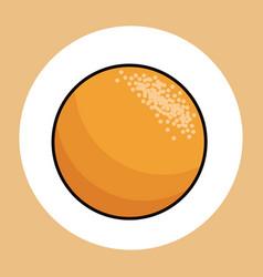 Orange healthy fresh image vector