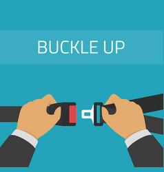 Safety belt vector