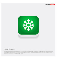 snow flake icon vector image
