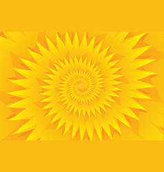 star yellow abstract background vector image