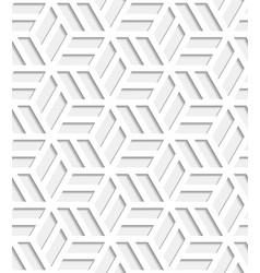 japanese seamless pattern cut out from paper vector image