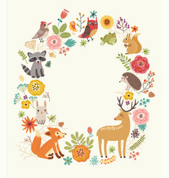 animals background vector image vector image