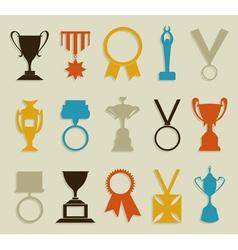 Award in sports vector