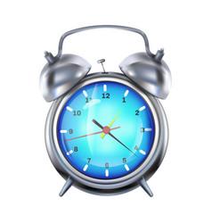 Alarm clock 3d realistic vector