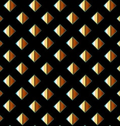Background with golden squares vector