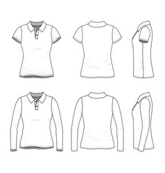 Female clothing set vector