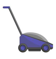 hand grass cutter icon cartoon style vector image