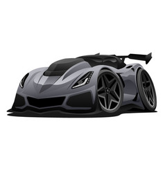 modern american sports car vector image