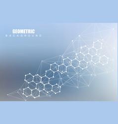 modern futuristic background of the scientific vector image
