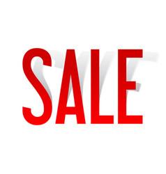 sale background banner template design vector image
