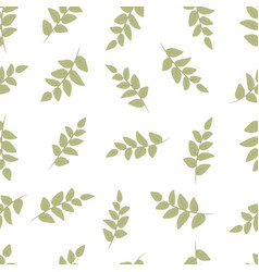 Seamless decorative template texture with green vector