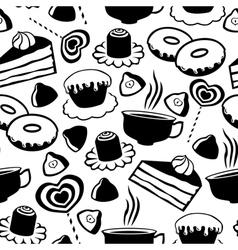 Sweet pattern vector