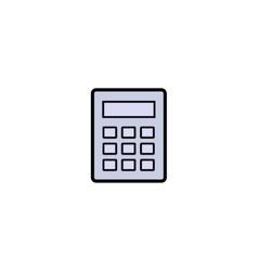 Calculator symbol icon vector image vector image