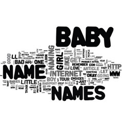 Baby needs a new pair of shoes text word cloud vector