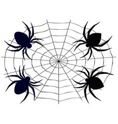 Cartoon Spider4 vector