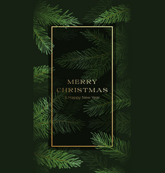 Christmas abstract vertical greeting card vector