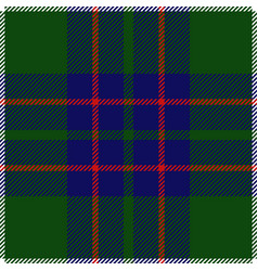Clan macintyre tartan plaid seamless pattern vector