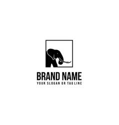 Creative logo design elephant vector