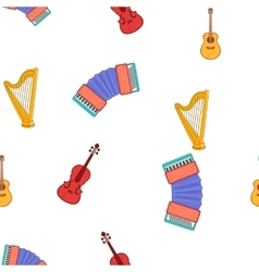 Device for music pattern cartoon style vector