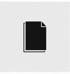 document icon simple vector image
