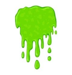 New green slime symbol vector