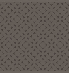 seamless abstract art dark gray monochrome pattern vector image