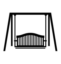 Swing seat vector