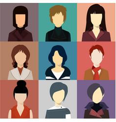 Women avatar vector