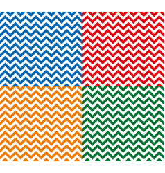 zig zag seamless pattern vector image