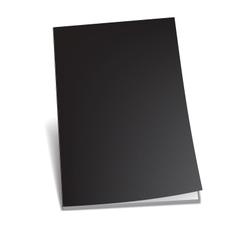 Empty brochure vector image