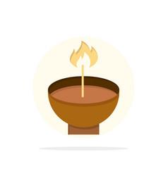 celebrate deepam deepavali diwali festival lamp vector image