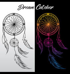 Dream catcher icon 07 vector