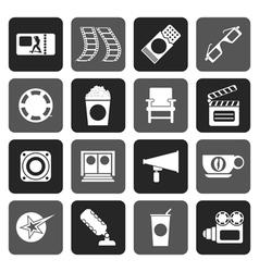 Flat Cinema and Movie vector image