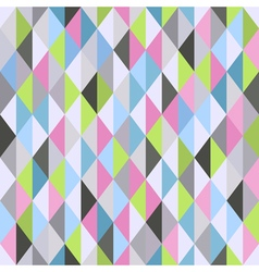 Geometrical seamless pattern with colorful vector
