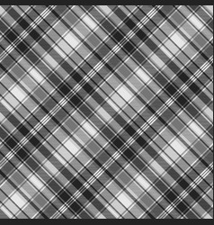 Gray check fabric texture seamless pattern vector