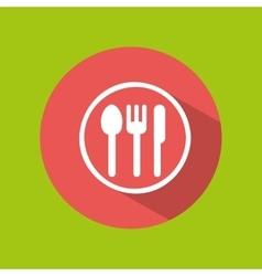 Man tourist traveler restaurant design graphic vector
