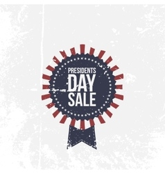 Presidents Day Sale national Label with Text vector image