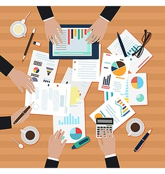Coworking ofice men vector image vector image