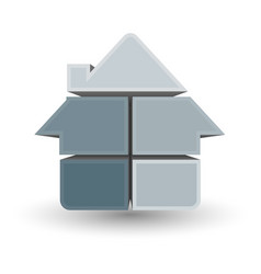 symbol house design vector image