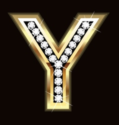 y bling vector image