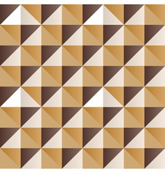 Abstract yellow triangles vector image